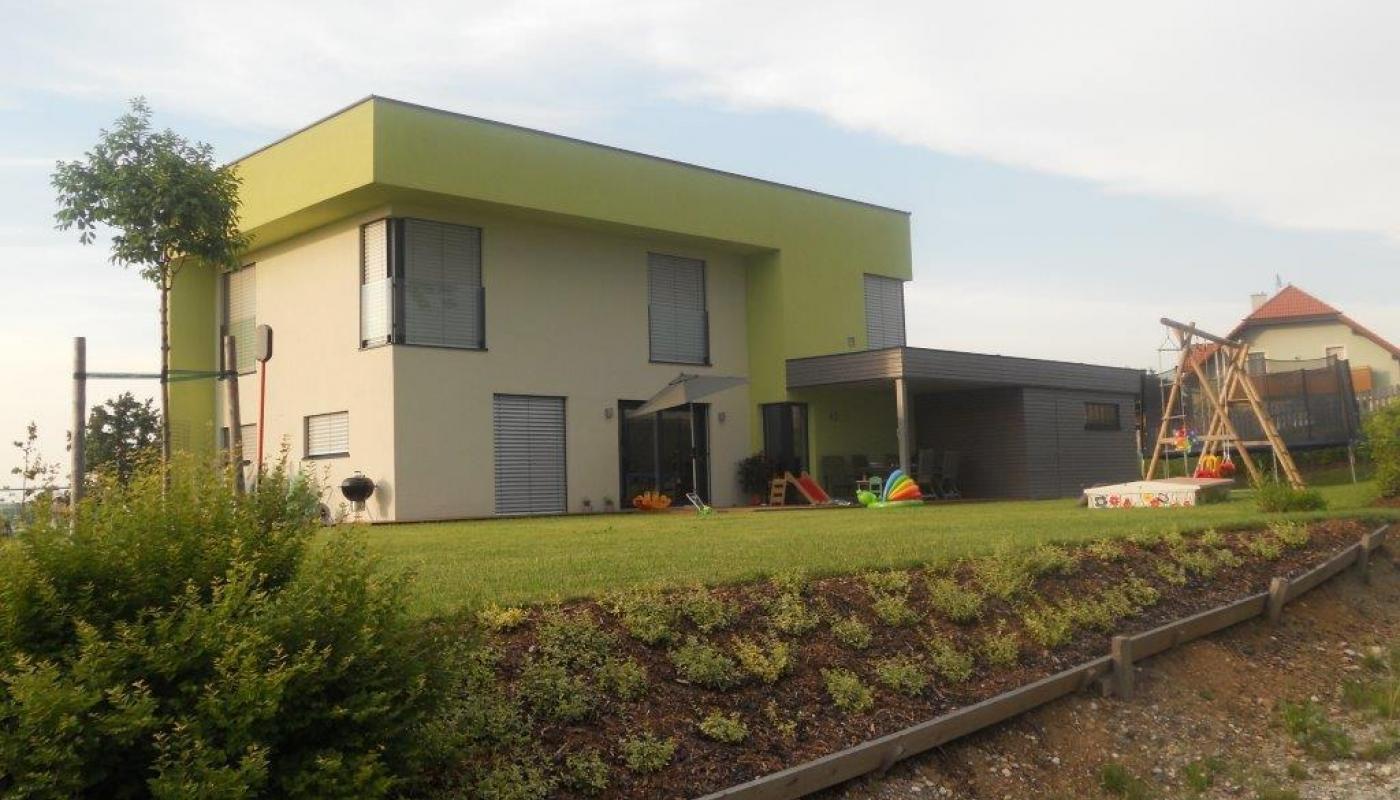 Wohnhaus in Holzriegelbauweise