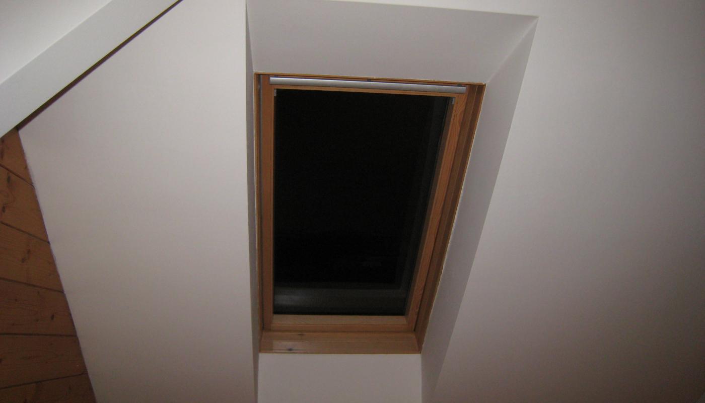 Dachausbau/Dachflächenfenster