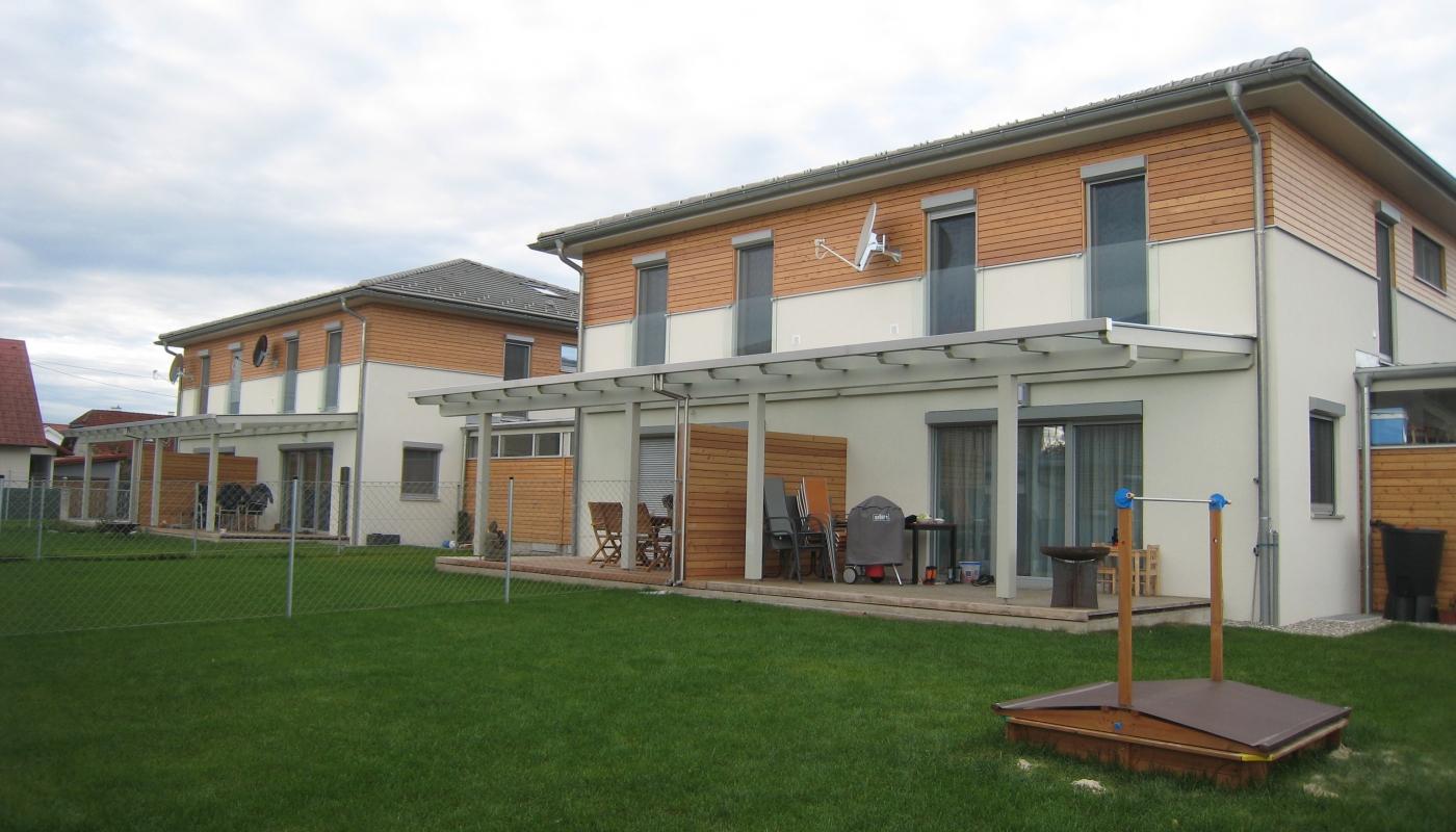 Larix Doppelhausanlage Puchstraße